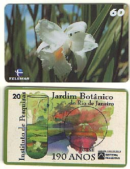 2001 Brazilian phone card